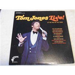 Tom Jones - Live Vinyl LP For Sale - SEALED