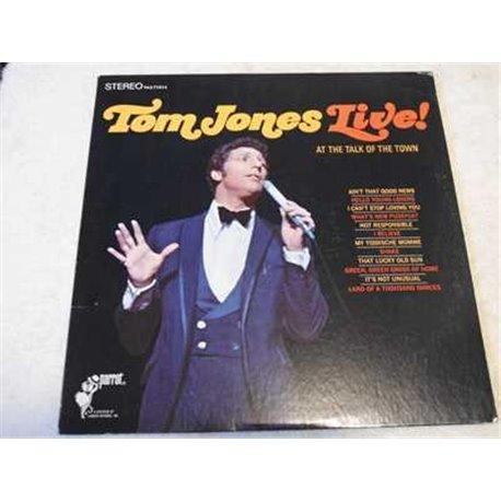 Tom Jones - Live Vinyl LP For Sale - SEALED