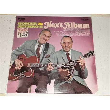 Homer and Jethro's Next Album Vinyl Lp For Sale