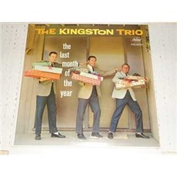 The Kingston Trio - The Last Month Of The Year SEALED Vinyl LP For Sale