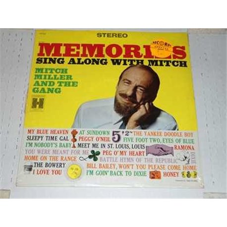 Mitch Miller - Memories Sing Along With Mitch Vinyl LP For Sale