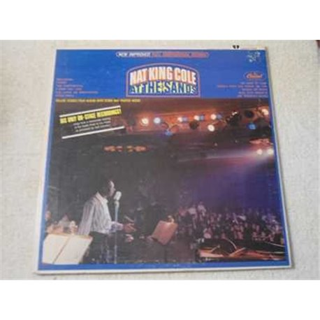 Nat King Cole - At The Sands LP Vinyl Record For Sale