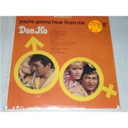 Don Ho - Your Gonna HearFrom Me Vinyl LP For sale