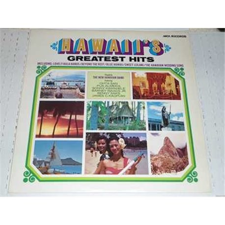 Hawaii's Greatest Hits Vinyl LP Record For Sale