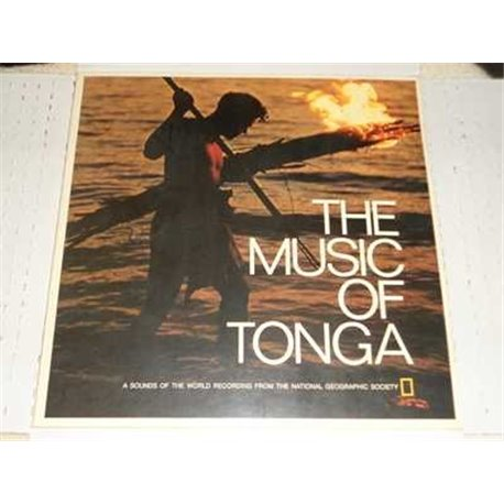 The Music Of Tonga, National Geographic Vinyl LP For Sale