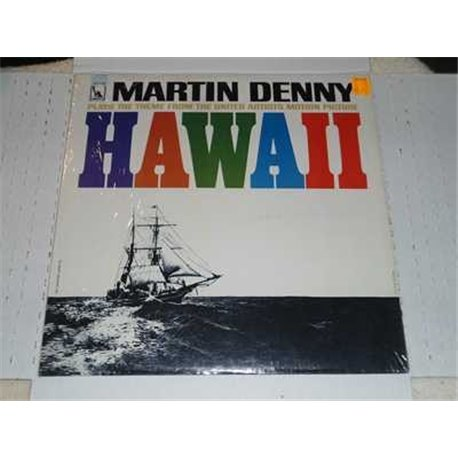 Theme From Hawaii The Motion Picture - Martin Denny Vinyl Lp For Sale