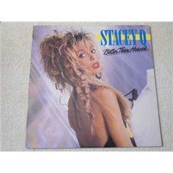 Stacey Q - Better Than Heaven LP Vinyl Record