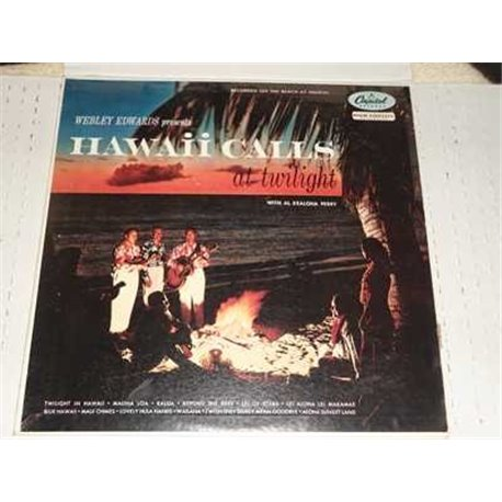 Hawaii Calls At Twilight - With Al Kealoha Perry Vinyl Lp For Sale