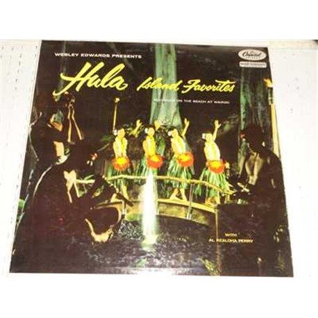 Hula Island Favorites - Al Kealoha Perry Vinyl LP For Sale