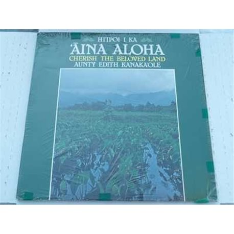 Aunty Edith Kanaka'ole - Cherish The Beloved Land Lp For Sale