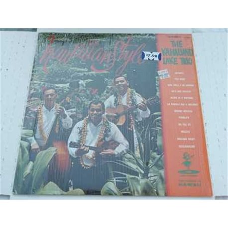 The Kahauanu Lake Trio - Hawaiian Style Vinyl LP For Sale