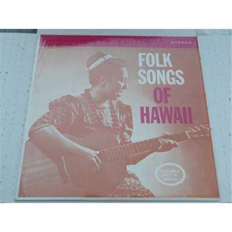 Folk Songs Of Hawaii - Noelani Kanoho Mahoe Vinyl LP For Sale