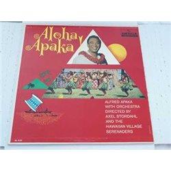 Alfred Apaka - Aloha Apaka Vinyl LP Vinyl Record For Sale