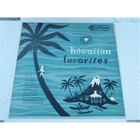 Rare Jim Flora Tiki Art - Hawaiian Favorites - Ray Kinney LP For Sale