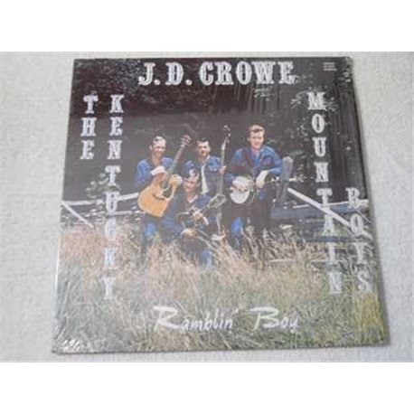 J.D. Crowe - Ramblin' Boy LP Vinyl Record Album