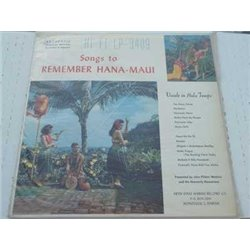 John Pi'ilani Watkins - Songs To Remember Hana-Maui Lp For Sale