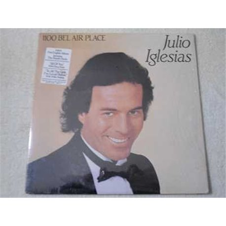 Julio Iglesias - 1100 Bel Air Place LP Vinyl Record