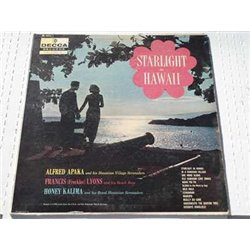 Starlight In Hawaii - Alfred Apaka | Honey Kalima LP For Sale