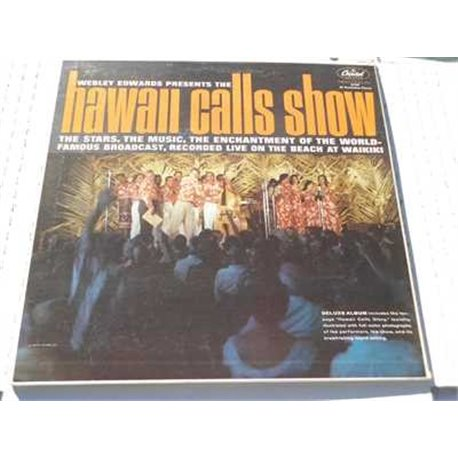 Hawaii Calls Show - Webley Edwards vinyl LP For Sale