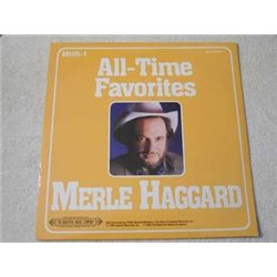 Merle Haggard - All-Time Favorites LP Vinyl Record For Sale
