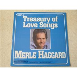 Merle Haggard - Treasury Of Love Songs LP Vinyl Record For Sale