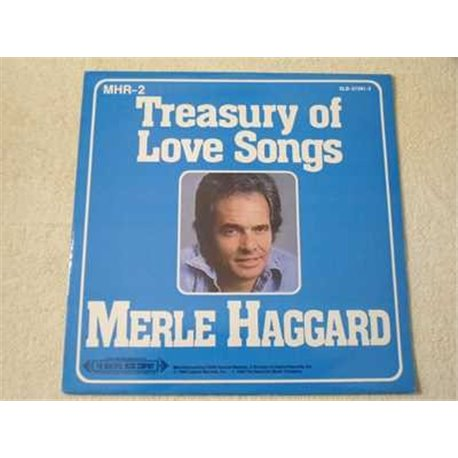 Merle Haggard - Treasury Of Love Songs LP Vinyl Record