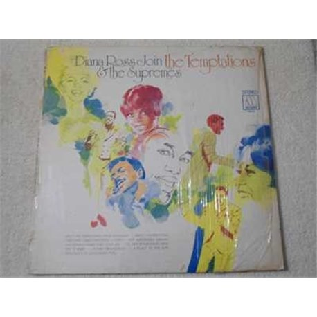Diana+Ross+Supremes+Join+Temptaions+LP+Vinyl+Record