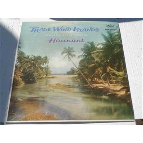 Haunani - Trade Wind Islands - Romantic Island Songs Vinyl LP For Sale