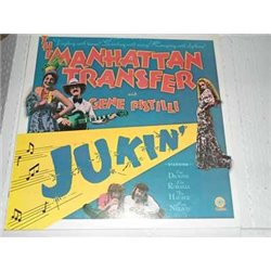 The Manhattan Transfer - Gene Pistilli - Jukin Vinyl LP For Sale