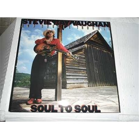 Stevie Ray Vaughan - Soul To Soul ULTRA RARE 180g Vinyl LP For Sale
