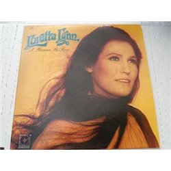 Loretta Lynn - I Wanna Be Free Vinyl LP Record For Sale