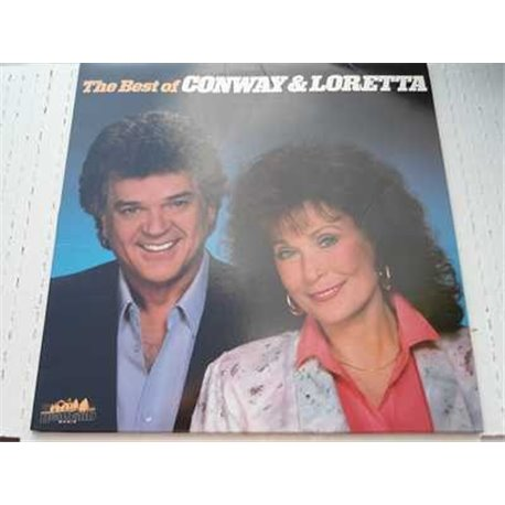 Conway Twitty And Loretta Lynn - The Best Of Vinyl LP For Sale