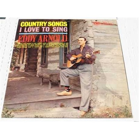 Eddy Arnold - Country Songs Vinyl LP Record For Sale