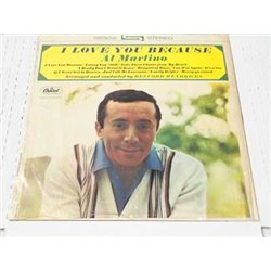 Al Martino - I Love You Because Vinyl LP Record For Sale