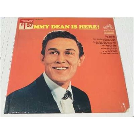 Jimmy Dean - Jimmy Dean Is Here Vinyl LP For Sale