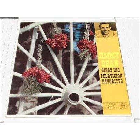 Jimmy Dean Sings His Television Favorites RARE Vinyl LP For Sale
