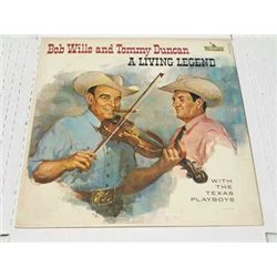 Bob Wills And Tommy Duncan - A Living Legend Vinyl LP For sale