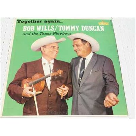Bob Wills And Tommy Duncan - Together Again Vinyl LP For sale