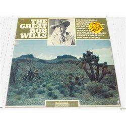 Bob Wills - The Great Bob Wills RARE Vinyl LP For Sale