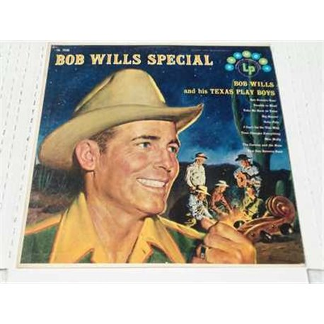 Bob Wills - Special Vinyl LP Record For Sale