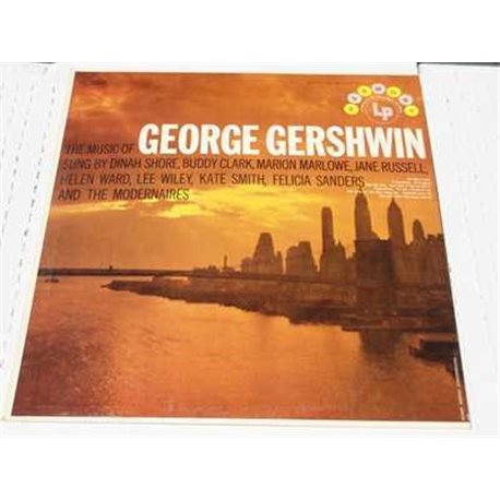 The Music Of George Gershwin - Various Singers Vinyl LP Sale