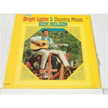 Rick Nelson - Bright Lights And country Music Vinyl LP For Sale