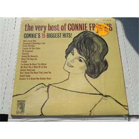 The Very Best Of Connie Francis Vinyl LP For Sale