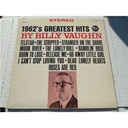 Billy Vaughn - 1962 Greatest Hits Vinyl LP For Sale