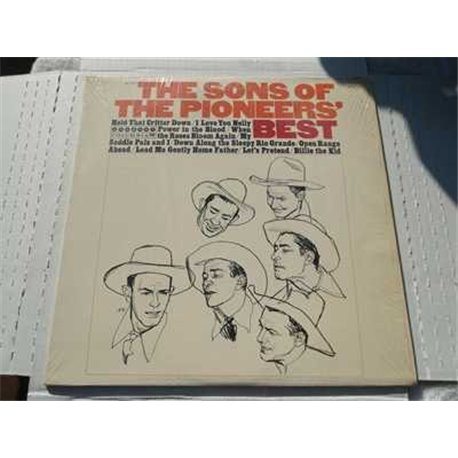 Sons Of The Pioneers - Best Vinyl Lp Record For Sale