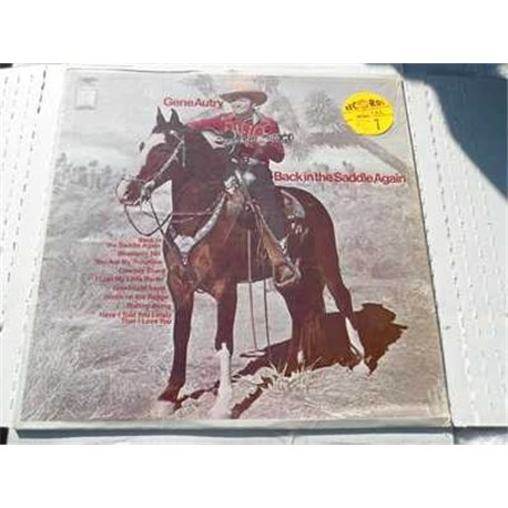 Gene Autry - Back In The Saddle Again Vinyl LP For Sale