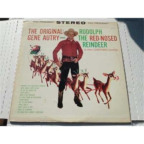 Gene Autry - Rudolph The Red Nosed Reindeer Vinyl LP For Sale