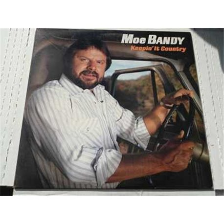Moe Bandy - Keepin It Country Vinyl LP Record For Sale