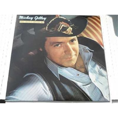 Mickey Gilley - You Dont Know Me Vinyl LP Record For Sale