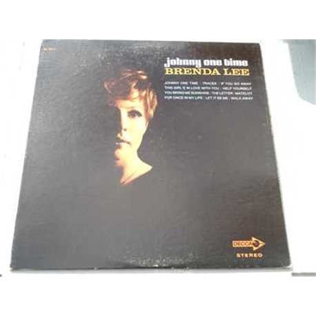 Brenda Lee - Johnny One Time Vinyl LP Record For Sale